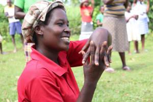 The Water Project: Mukhuyu Community, Kwakhalakayi Spring -  It Did Turn Out To Be Fun At Kwakhalakayi Spring