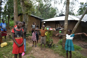 The Water Project: Burachu B Community, Namukhuvichi Spring -  The Social Distance Test