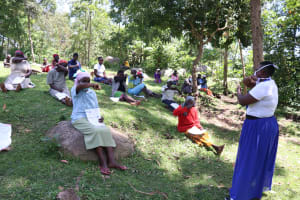The Water Project: Imbinga Community, Arunga Spring -  Cough And Sneeze Into The Elbow