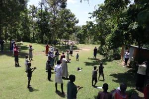 The Water Project: Imbinga Community, Arunga Spring -  Demonstrating Ten Handwashing Steps