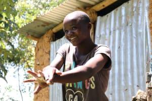 The Water Project: Imbinga Community, Arunga Spring -  Handwashing Demonstrations