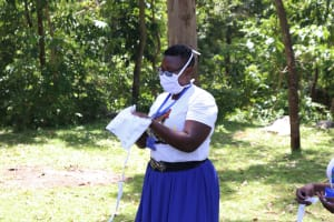The Water Project: Imbinga Community, Arunga Spring -  Illustrations On How To Make Masks
