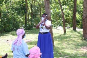 The Water Project: Imbinga Community, Arunga Spring -  Illustrations On Proper Mask Wearing