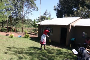 The Water Project: Kambiri Community, Sachita Spring -  Sneez And Cough In The Elbow To Reduce Spread Of Virus