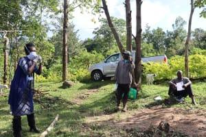 The Water Project: Mubinga Community, Mulutondo Spring -  Facilitator Conducting Sensitization
