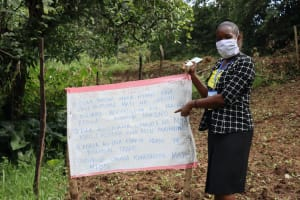 The Water Project: Mubinga Community, Mulutondo Spring -  Highlighting Key Points On The Chart