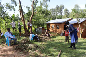 The Water Project: Mubinga Community, Mulutondo Spring -  Ongoing Training In Mulutondo Community
