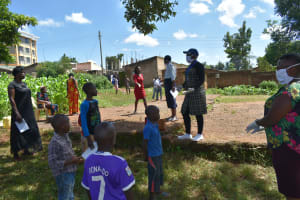 The Water Project: Lutonyi Community, Lutomia Spring -  Training In Session At Lutomia Spring