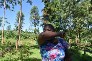 The Water Project: Imbinga Community, Imbinga Spring -  Cough Or Sneeze Into The Elbow