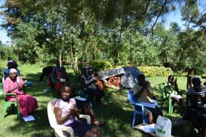 The Water Project: Imbinga Community, Imbinga Spring -  Handwashing Demonstration