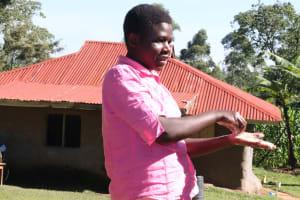 The Water Project: Buyangu Community, Mukhola Spring -  Proper Demonstration On Handwashing