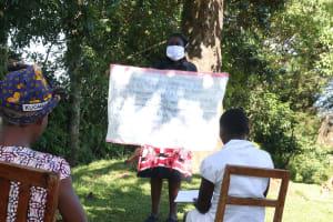 The Water Project: Buyangu Community, Mukhola Spring -  Reminder Chart Used At The Training