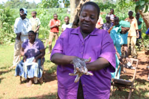 The Water Project: Shisere Community, Richard Okanga Spring -  Handwashing Demonstration