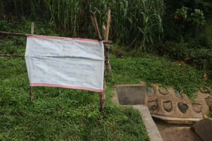 The Water Project: Buyangu Community, Osundwa Spring -  Installed Poster