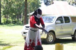The Water Project: Mukangu Community, Metah Spring -  Handwashing Ten Steps