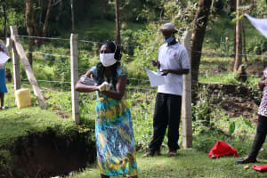 The Water Project: Ematere Community, Barnes Spring -