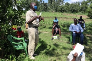 The Water Project: Wetai Community, Musembe Spring -