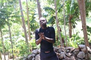 The Water Project: Mwinaya Community, Severe Spring -  Ten Steps Of Handwashing Practical