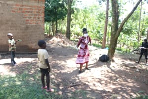 The Water Project: Mwinaya Community, Severe Spring -  Use Of Illustrations At The Training