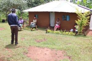 The Water Project: Mutambi Community, Kivumbi Spring -  Conducting Training At Kivumbi Spring