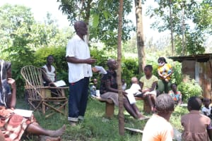 The Water Project: Eshiakhulo Community, Omar Sakwa Spring -  Asking A Question