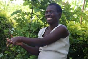 The Water Project: Eshiakhulo Community, Omar Sakwa Spring -  Following Handwashing Practice
