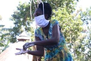 The Water Project: Eshiakhulo Community, Omar Sakwa Spring -  Handwashing Should Be Thorough