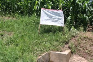 The Water Project: Eshiakhulo Community, Omar Sakwa Spring -  The Chart At The Spring Site