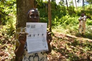 The Water Project: Elunyu Community, Saina Spring -  A Swahili Translated Handout