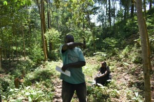 The Water Project: Elunyu Community, Saina Spring -  Cough Or Sneeze Into The Elbow
