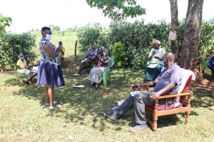 The Water Project: Mtao Community, Tifina Odari Spring -  Question And Answer Session