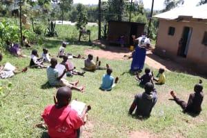 The Water Project: Bukhakunga Community, Khayati Spring -  Ongoing Covid Sensitization