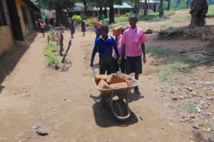 The Water Project:  Students Help Bring Materials To School