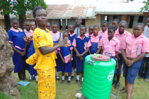 The Water Project:  A Teacher Joins The Handwashing Demonstration