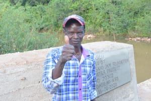 The Water Project: Nzimba Community A -  Mwendwa Maithya