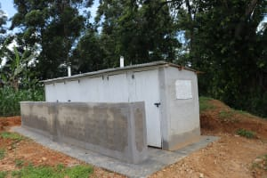 The Water Project:  New Vip Latrines