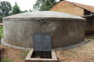 The Water Project:  New Rain Tank