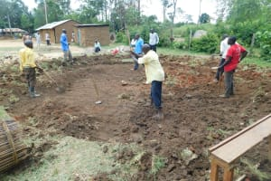 The Water Project: Mukoko Baptist Primary School -  Ground Excavation