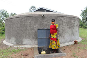 The Water Project: Mukoko Baptist Primary School -  Staff Member At The Drawing Point