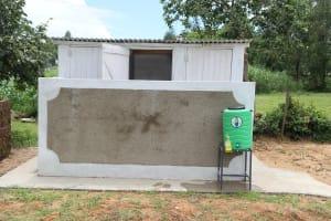 The Water Project: Mukoko Baptist Primary School -  Girls Latrines And Handwashing Point