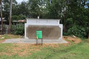 The Water Project: Mukoko Baptist Primary School -  Boys Latrines And Handwashing Point
