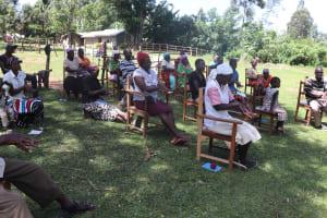 The Water Project: Mukhonje Community, Mausi Spring -  Handwashing Training