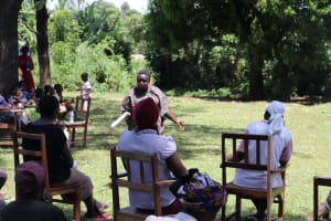 The Water Project: Mukhonje Community, Mausi Spring -  Interactive Session With Participants