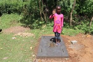 The Water Project: Mukhonje Community, Mausi Spring -  Emma Celebrating A Sanplat