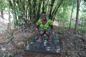 The Water Project: Mukhonje Community, Mausi Spring -  Celebrating Sanplats