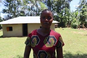 The Water Project: Mukhonje Community, Mausi Spring -  Marylyne Mukwami