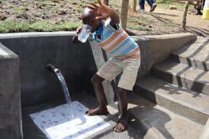 The Water Project: Mukhonje Community, Mausi Spring -  Water Celebrations