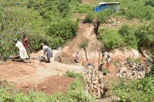 The Water Project: Nzimba Community -  Trenching