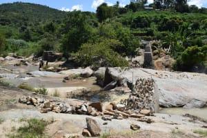 The Water Project: Nduumoni Community A -  Dam And Well Progress