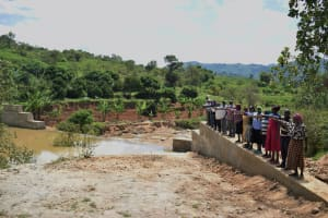 The Water Project: Nduumoni Community -  Celebrating The New Dam